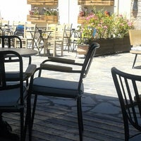 Photo taken at Avli Bar Sivota by Μαρία Κ. on 7/3/2014