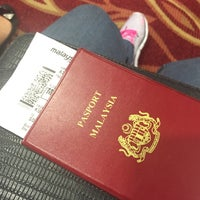 Photo taken at Gate A8 by Aina A. on 9/30/2016