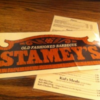 Photo taken at Stamey's Old Fashioned Barbecue by Alexandra M. on 6/19/2013
