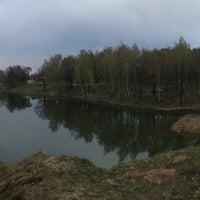 Photo taken at Пруд на Стрельбище by Дмитрий Ц. on 4/28/2014