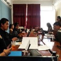 Photo taken at Escuela Normal Superior De Michoacan by Atahualpa S. on 4/5/2014
