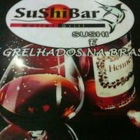 Photo taken at SuShiBar Mallet Grill by Pathiene G. on 12/23/2012