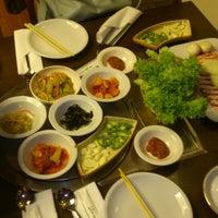 Photo taken at Shilla Japan Restaurant by Baihe B. on 4/9/2014