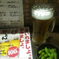 Photo taken at 海援隊沖縄 肝どん 天神橋店 by しぇんちー on 6/20/2015