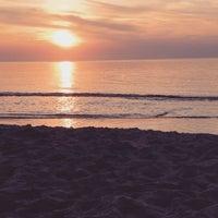 Photo taken at Lubiatowo - Morze by Nastasya F. on 7/4/2015