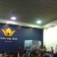 Photo taken at Iglesia Casa del Rey by Ciro J. on 12/6/2014