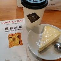 Photo taken at Love A Loaf Bakery & Café by Ceccy on 9/3/2014