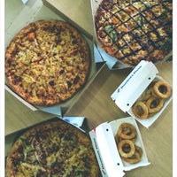 Photo taken at Domino's Pizza by 🌸Wiyuna T. on 2/25/2015