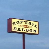 Photo taken at Softail Saloon by Steve L. on 8/8/2014