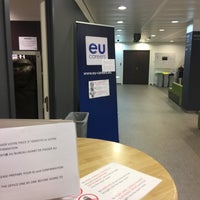 Photo taken at Proximus Towers by Theo V. on 3/6/2017