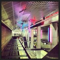 Photo taken at Pershing Square Metro Station by Hans H. on 6/16/2013
