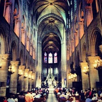 Photo taken at Cathedral of Notre Dame de Paris by Hans H. on 7/23/2013