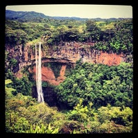 Photo taken at Chamarel Waterfall by Hans H. on 11/29/2013