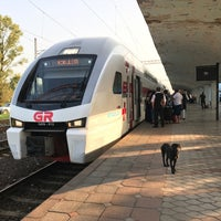 Photo taken at Kobuleti Railway Station   ქობულეთის რკინიგზის სადგური by Zh on 9/11/2017