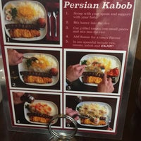 Photo taken at Rayhoon Persian Eatery by Babak R. on 8/20/2017