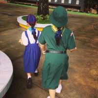Photo taken at Sarasas Suksawad School by Thara T. on 6/4/2013