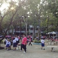 Photo taken at Sarasas Suksawad School by Thara T. on 12/4/2012