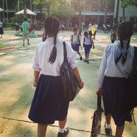Photo taken at Sarasas Suksawad School by Thara T. on 2/12/2013