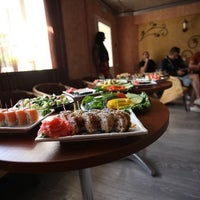 Photo taken at Aft cafe by Маша on 7/30/2014
