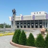 Photo taken at Кыргызская национальная филармония им. Т. Сатылганова by I-jan A. on 7/6/2014