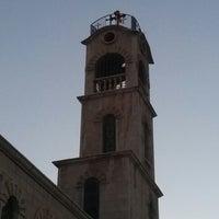 Photo taken at كنيسة دخول السيد إلى الهيكل by Samer G. on 9/5/2013