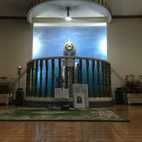 Photo taken at St. Augustine Cathedral by Johnkaryl Deocades Gatilogo E. on 9/2/2016