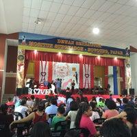 Photo taken at Dewan Serbaguna Mositun by Douglas J. on 5/28/2016
