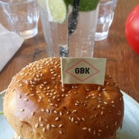 Photo taken at Gourmet Burger Kitchen by Roberto A. on 10/29/2017