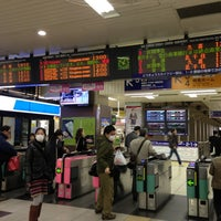 Photo taken at Tobu Asakusa Station (TS01) by Hatori R. on 12/29/2012