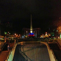 Photo taken at Plaza Francia by LcArrietap on 7/29/2013