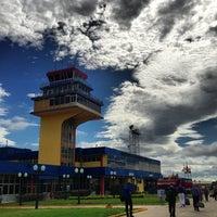 Photo taken at Aeropuerto Internacional Jacinto Lara (BRM) by LcArrietap on 7/30/2013