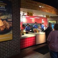 Photo taken at Zaxby's Chicken Fingers & Buffalo Wings by Jake C. on 5/24/2014
