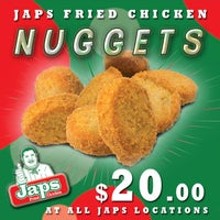 Photo taken at Japs Fried Chicken by Japs F. on 8/25/2014