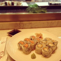 Photo taken at Sushi of Gari at The Plaza Hotel Food Hall by Virginie N. on 12/23/2012