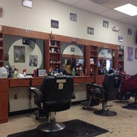 Photo taken at Airmont Unisex Barber by Stephen M. on 10/16/2014