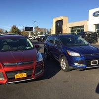 Photo taken at Schultz Ford Lincoln by Stephen M. on 10/26/2015