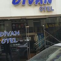 Photo taken at Divan Otel by Özkan K. on 3/4/2016