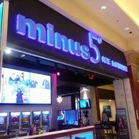 Photo taken at Minus5° Ice Lounge by Hazel V. on 6/30/2013