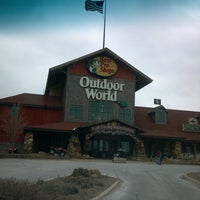 Photo taken at Bass Pro Shops by Jeri H. on 1/3/2013