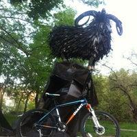 Photo taken at Какой-то Парк В Хабаровске by Ilya T. on 5/22/2014