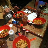 Photo taken at Genghis Grill by Treasa P. on 11/3/2012