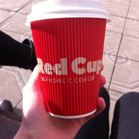 Photo taken at Red Cup by Ксения П. on 4/9/2014