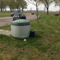 Photo taken at Rustplaats Moerkerken by Ad V. on 4/25/2013