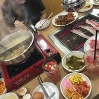 Photo taken at Daessiksin Korean BBQ Buffet by cass 🌸 on 3/30/2018