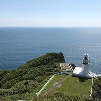 Photo taken at Chikiu-misaki Lighthouse by みぬさん on 9/9/2017