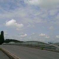 Photo taken at 見沼大橋 by みぬさん on 7/20/2014