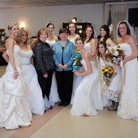 Photo taken at Elegance Made Simple Wedding Shop by Lynn B. on 7/8/2014
