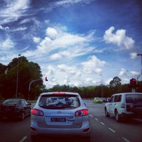 Photo taken at Tutong Camp Traffic Light by Kendy I. on 5/4/2013