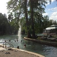 Photo taken at Parco Termale Villa dei Cedri by Taisiya 👸 P. on 5/23/2013