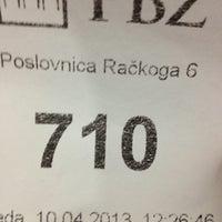 Photo taken at Privredna banka Zagreb (PBZ) by Ivan S. on 4/10/2013